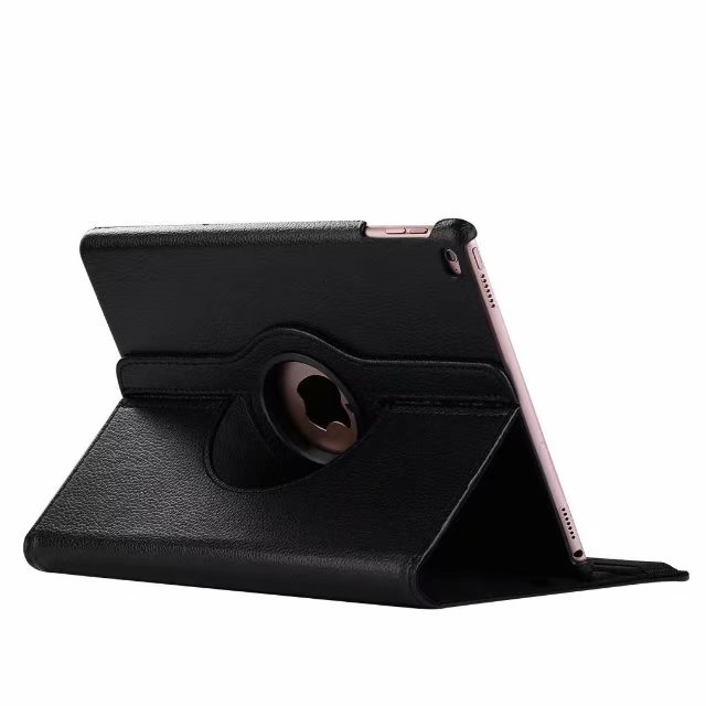 Audacious 100pcs/lot Litchi 360 Degree Rotating Hot Sale Leather Cover Case For Ipad 2 3 4 5/air 6/air 2 Pro 9.7 10.5 11 12.9 Shell Computer & Office