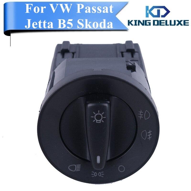 Car Foglight Headlight Switch Control Knob For VW Jetta