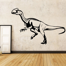 Removable Dino Wall Art Decal Wall Sticker Mural Decor Living Room Bedroom Removable Waterproof Wall Art Decal LW74-1 wall decal luis suarez football player star bedroom living room decal wall art sticker removable fashion interior decor ww 36