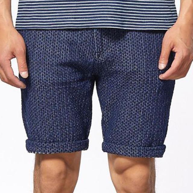 ccf4bb00e1 2018 Summer Vintage Polka Dot Shorts Men Knee Length Bermuda Masculina  Vintage Mens Shorts Streetwear Casual
