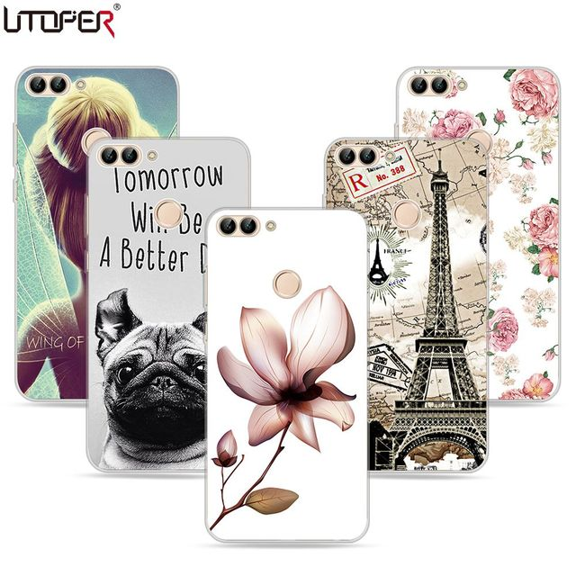 2404ed9238c UTOPER Case For Huawei P Smart Case Silicon Cover For Honor 9 Lite Case For  Huawei Mate 10 Lite Case Enjoy 7s 7x P9 P8 Lite 2017