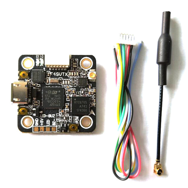F4_SVTX STM32F411C Flight Controller Integrated 5.8G 48CH 25/100/200mW Switchable VTX OSD 20x20mm For RC Models Quadcopter PartsF4_SVTX STM32F411C Flight Controller Integrated 5.8G 48CH 25/100/200mW Switchable VTX OSD 20x20mm For RC Models Quadcopter Parts