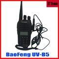 Walkie Talkie communicator Two-way Radio uv b5 Two Way 5W 99CH UHF/VHF Dual Band Portable Radio Baofeng UV-B5 UVB5 add headset