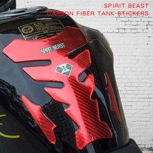 SPRIT BEAST мотоциклетные наклейки аксессуары наклейки водонепроницаемый Мотоцикл Защита топливный бак защитный для Honda Suzuki BMW