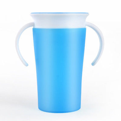Children Safe Spill 360 Degree Drink Prevent Leaking Cup