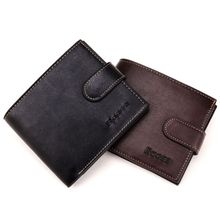 High Quality Mens PU Leather Bifold Wallet Credit ID Card Holder Mini Coin Bag Purse Money Pouch Coffee/Black 2019 New