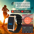 MD8 0.66 Inch OLED Display Waterproof IP68 Silicone Smart Bracelet Silicone Heart Rate Monitoring Smart Wristband