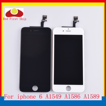 10Pcs/lot For iphone 6 LCD Screen Pantalla monitor 6G Display Touch Digitizer Complete Original Quality