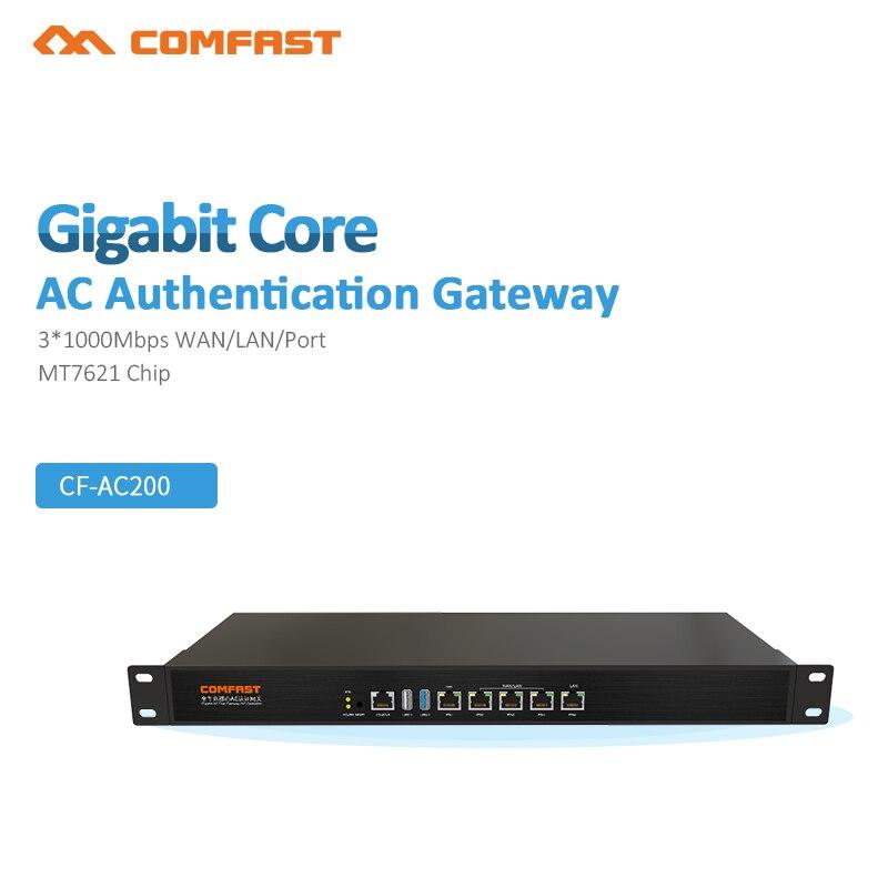 COMFAST CF AC200 гигабитный Wi Fi предприятия Бизнес RouterSecurity шлюз, Mutil WAN Порты и разъёмы, AP Управление 4*1000 Мбит WAN/LAN Порты и разъёмы