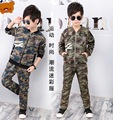 Spring autumn boys clothing set jacket pants kids camouflage Army Training Wear children casual clothes sport suit tracksuit