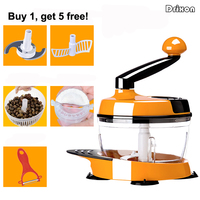 Drixon Hand Style Meat Grinder Garlic Vegetable Mincer Chopper Egg Beater Mixer Stirrer Dumpling Cooking Machine