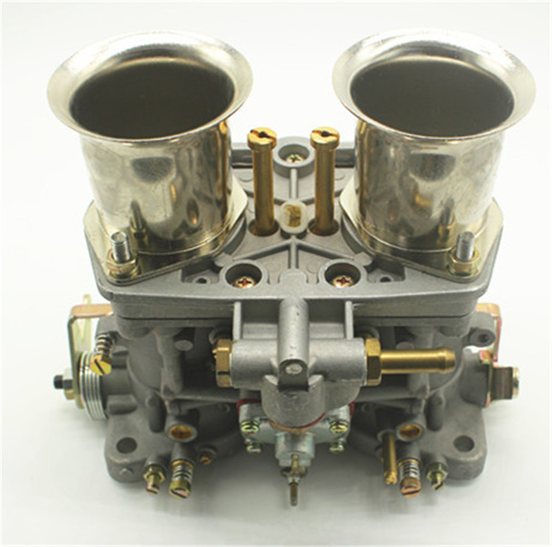 Qualité nouveau carburateur oem 44 tsahal + remplacement de cornes d'air pour Solex Dellorto Weber ajustement Bug Opala/Bettle/Vw Dellorto