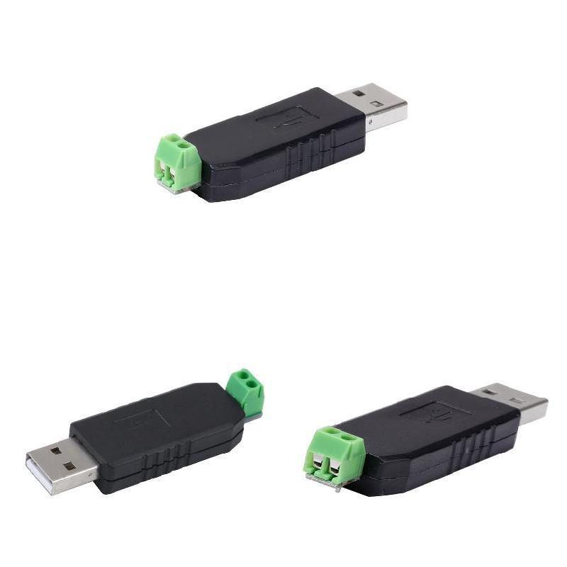 1Pc USB To RS485 Converter Adapter Support Windows 98/ME/2000/XP/7/8 Vista Linux EM88