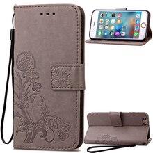 Trébol libro funda para apple ipod touch 5 6 touch5 Cubierta de Cuero Del Tirón Capa Luxry Touch6 Teléfono Móvil Accesorio capa cas