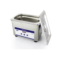 HIMOSKWA 800ML Ultrasonic Cleaner Bath Digital Ultrasound Wave Cleaning Tank Jewelry Watches Glasses CD Cleaners Sterilizer