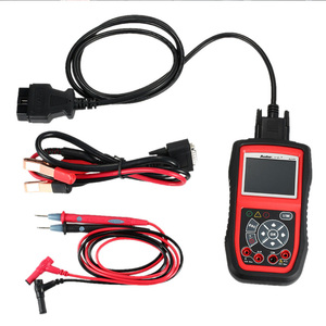 Image 5 - Autel autolink al539b obd obd2 carro de diagnóstico 12 v leitor código analisador bateria sistema carregamento scanner ferramenta teste circuito