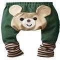 2015 NUEVA Llegada Del Bebé PP Pantalones de algodón para niños grils Ropa y Pantalones de Primavera y Otoño Niños de las polainas Del Bebé