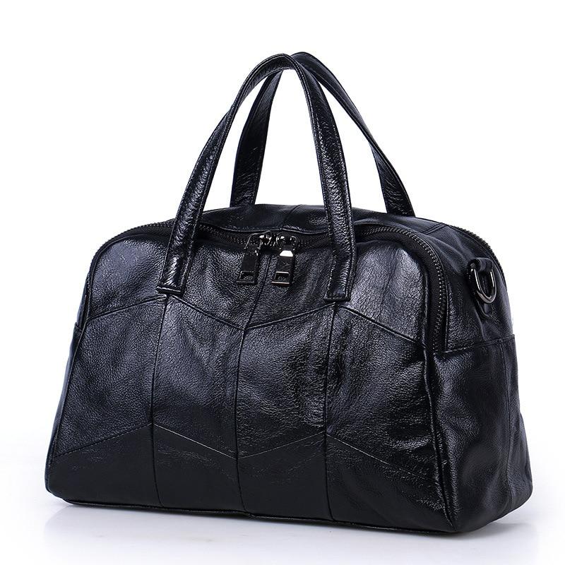 2019 new bag soft leather handbag satchel leather bag classic casual one-shoulder bag2019 new bag soft leather handbag satchel leather bag classic casual one-shoulder bag