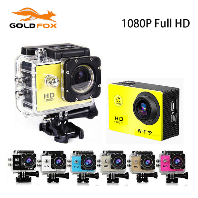 SJ7000 Style 1.5 Inch Screen 30M Waterproof Mini Camera 1080P Full HD Sport DV 170 Degree Wide Angel Bike Helmet Cam