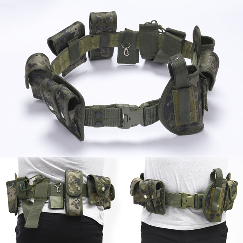 Security PCSO police VIPER BLACK BELT FITTING WEBBING LARGE PATROL POUCH
