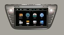 For Suzuki S-Cross / S Cross / SX4 2013~2015 Car DVD Player GPS Navigation Audio Video Multimedia System
