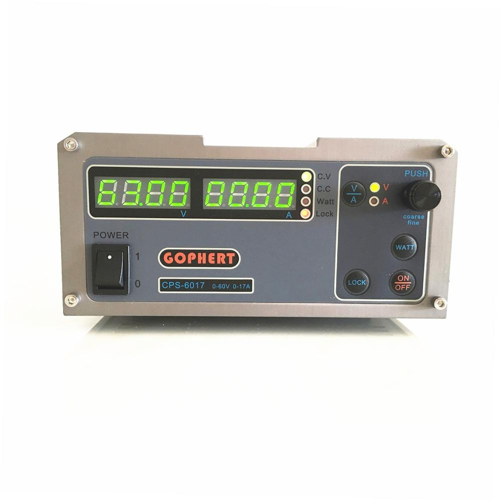 CPS 6017 High Power Digital Adjustable DC Power Supply 1000W 0 60V 0 17A Laboratory Power