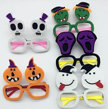 Halloween Zombie Skull Pumpkin Glasses Party Fancy Dress Up joke funny glasses masquerade ornament Club bar KTV Props hot favors