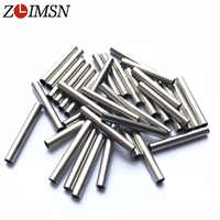 ZLIMSN 6PCS 22mm Metal Stainless steel Watch Bands Straps Replacement Watchbands Tube For Buckles KZ01 relogio
