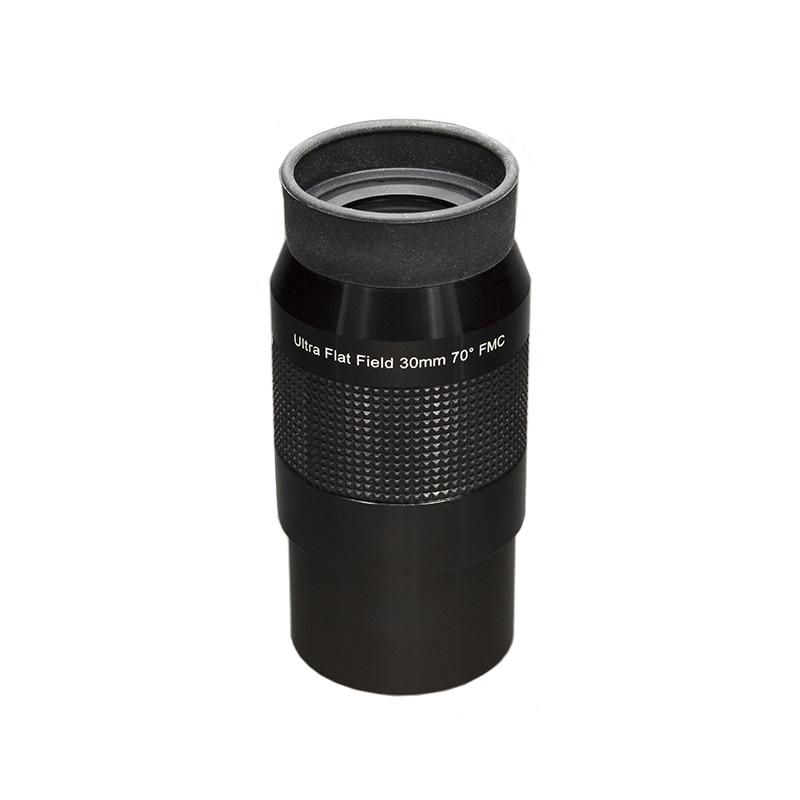2 дюймов 70 градусов ультра плоский полевой окуляр 30 мм HD Sharp FMC длинный глаз рельеф широкоугольный обзор астрономический телескоп окуляры