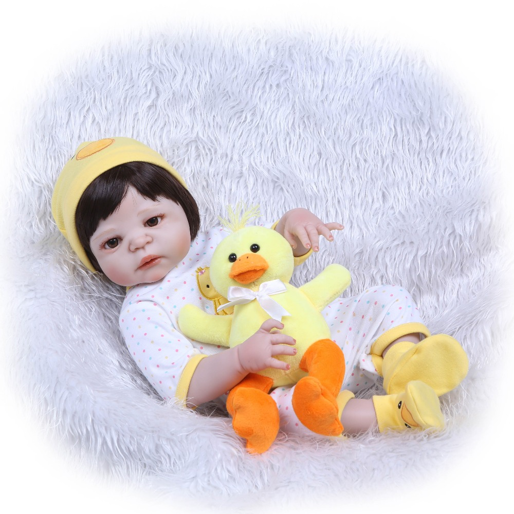 NPKCOLLECTION silicone vinyl reborn doll bonecas baby reborn realistic magnetic pacifier bebe doll reborn toys for girl Gift warkings reborn