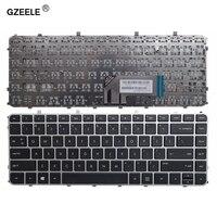 Gzeele novo portátil eua teclado para hp envy 6 1151sr 4 1255er 4 1256er 4 1257er 4 1257sr com quadro|Teclado de substituição| |  -