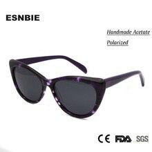 ESNBIE 2017 High Quality Polarized Sunglasses Women Cat Eye oculos feminino New Women's Shades Fashion Eyewear