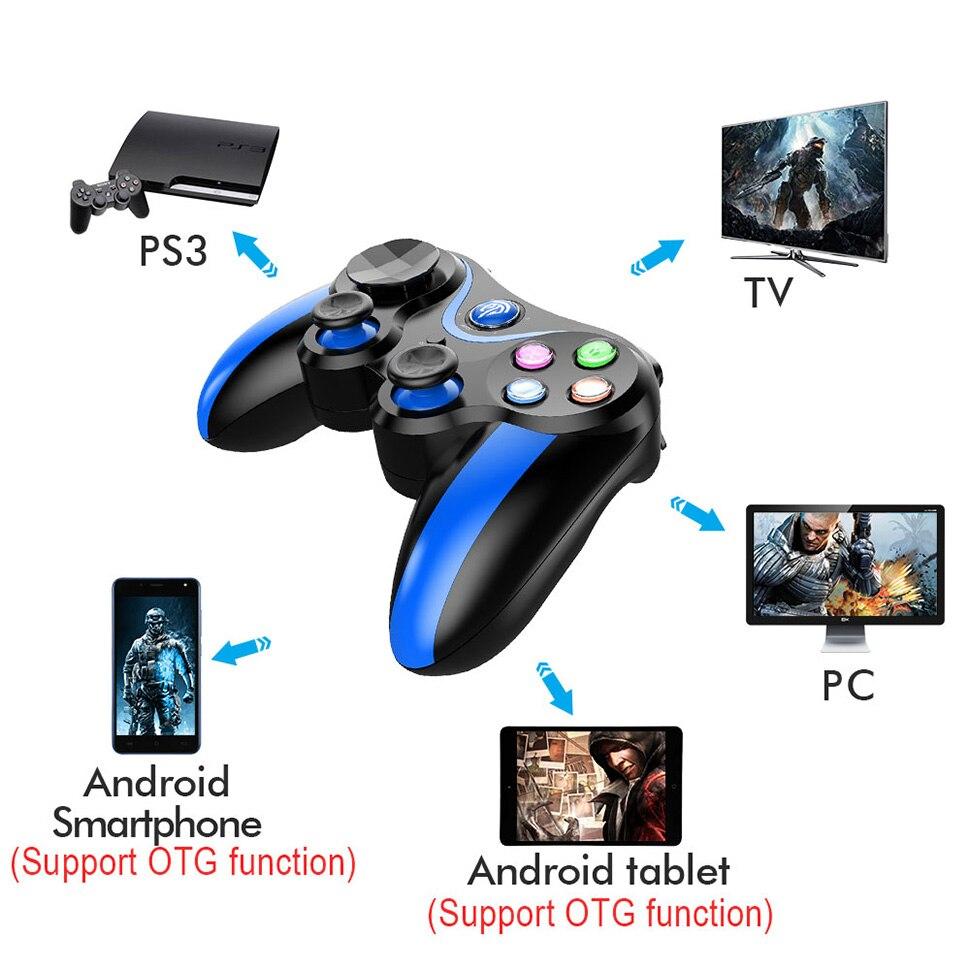 US $13 99 20% OFF|Aliexpress com : Buy EasySMX Gamepad VA 013 Wireless  Bluetooth Gamepad Game Controller Joystick for Xiaomi iphone Smartphone PS3  PC
