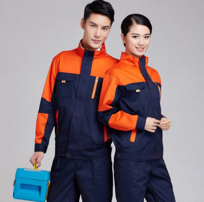 Set of Coat+Pants long sleeve mechanic uniform engineering uniform factory working coat ...