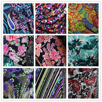 All Around Elastic Knitting Linen Cloth Milk Silk Crystal Haroun Pants Bathing Suit Fabric Micro Fiber