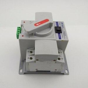 Image 2 - 2 1080P 63A 230V MCB 型デュアル電源自動転送スイッチ ATS