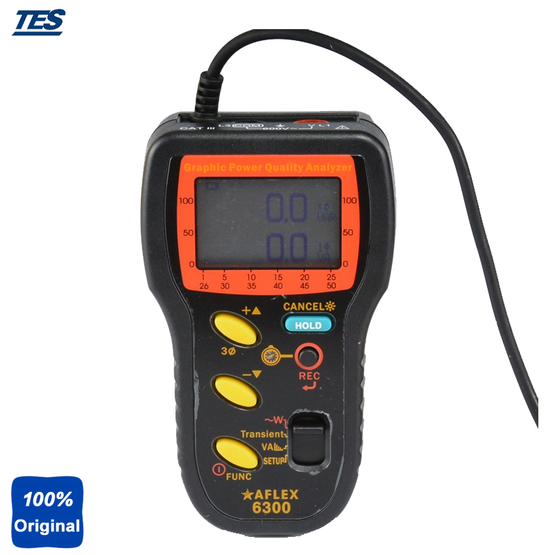 AFLEX 6300 Графический Анализатор качества электроэнергии, анализатор мощности