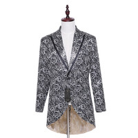 New Designer Brand Winter Fashion Men Business Dress Suit Jacket Blaser Masculino Slim Fit Casual Formal Pattern Blazer CUSTOM