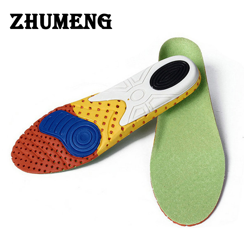 ZHUMENG Orthotic Shoe Insole EVA Palmilha Insoles Silicone Mat Flat Foot Shock Absorbing Insoles Gel Varnishes Pad Shoe Pads fashion boutique silicone gel insoles