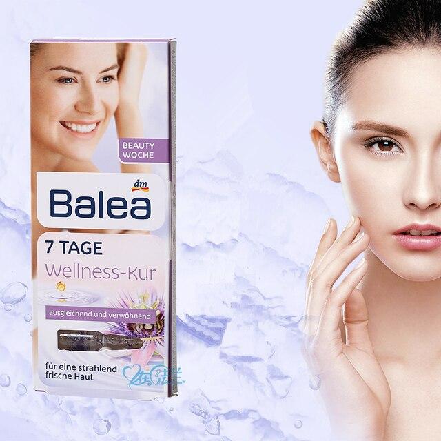 Germany Balea 7DAY wellness cure Hyaluronic Acid serum Beauty Effect LiftingTreatment Face Neck Essence Moisturizing injection