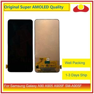 """Image 2 - Originale 6.7 """"Per Samsung Galaxy A80 A805 A90 A905 A805F SM 805F Display LCD Con Pannello Touch Screen Digitizer Pantalla completo"""