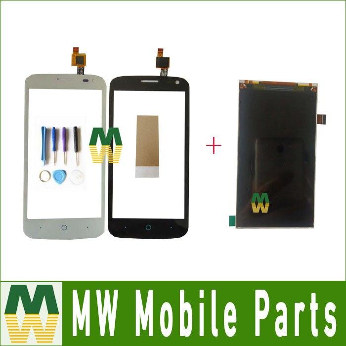 1 PC/Lot Pour ZTE Blade Q LUX Qlux 4G 3G séparée Écran Tactile Digitizer Et Lcd Affichage Noir blanc Couleur avec outils + Bande