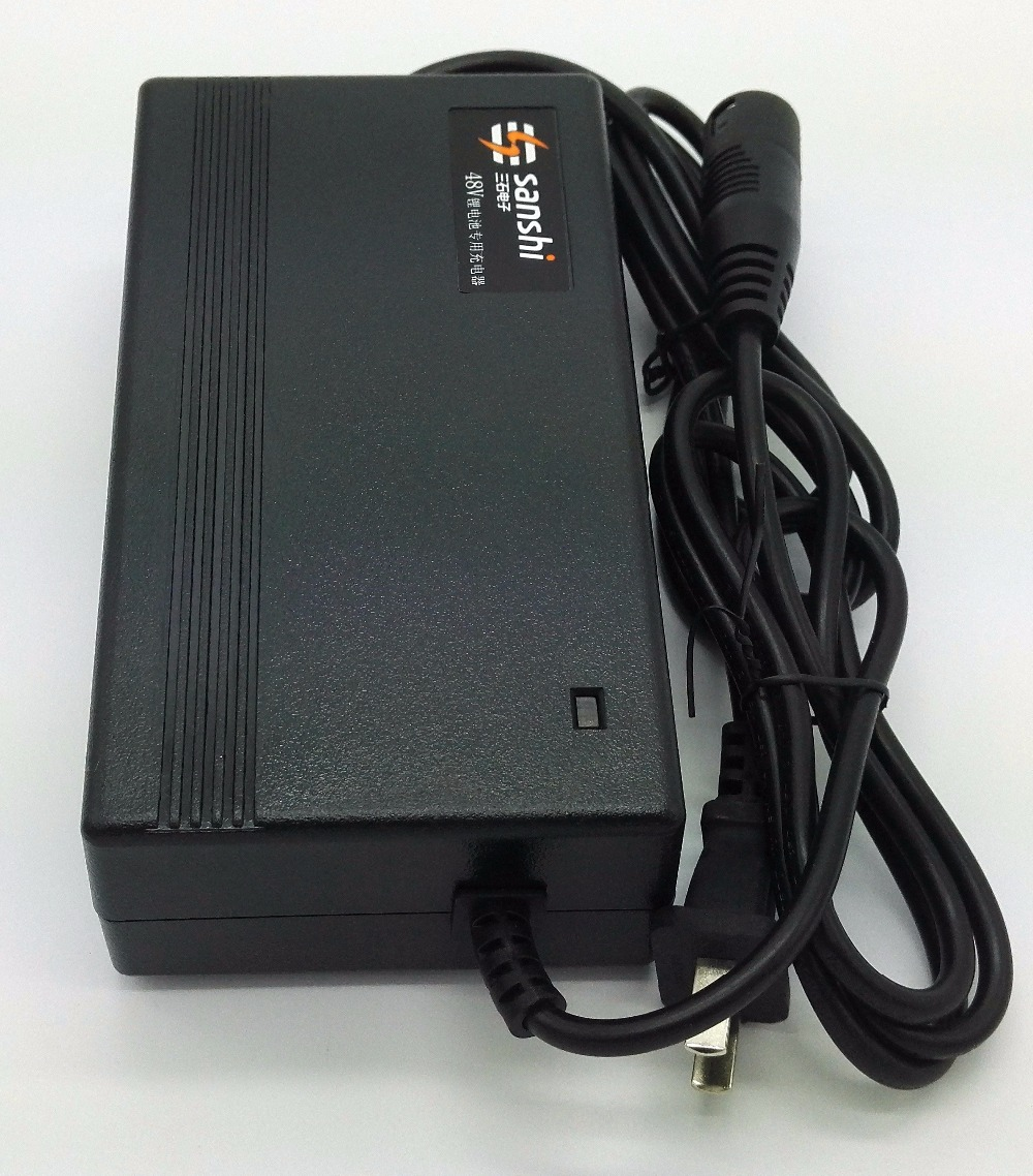 48v Lithium Ion Battery Charger Electric Bicycle Charger 58.8V 2A For 14S LiPo/Li-ion Batteries(China)
