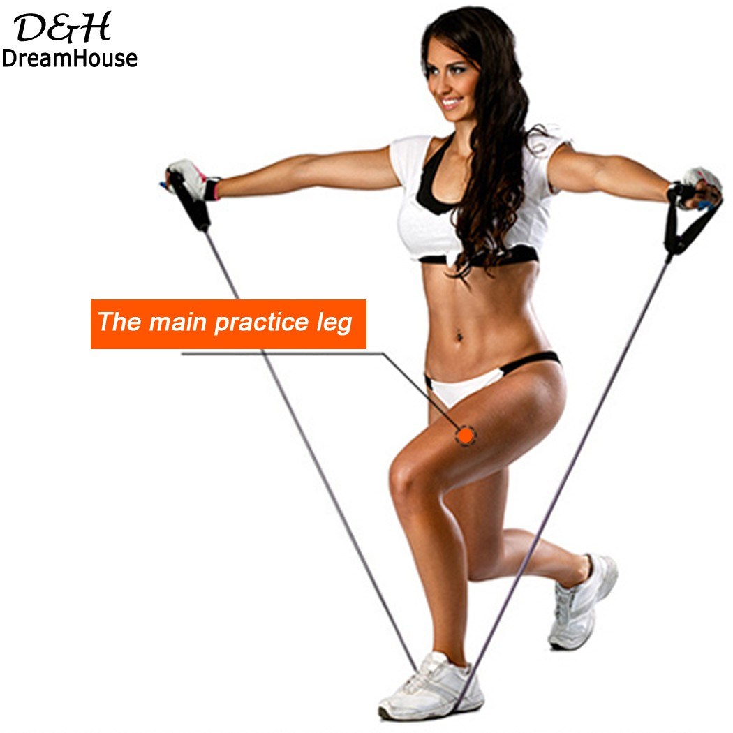 Resistance Band Leg Exercises Get Y Lets With Workout