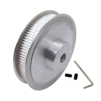 HTD 3M100 Teeth Timing Belt Pulley Aluminium Alloy Motor Wheel Tooth Pitch 3mm Hole Diameter 10mm