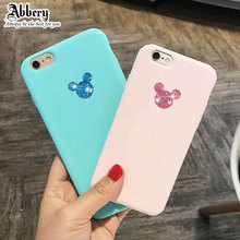 3D Cute Minnie Mickey Soft Phone Case for iPhone 11 Pro XR XS Max 6s 7