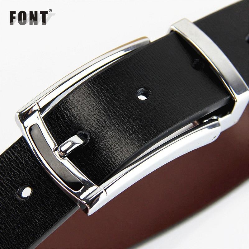Fashion Pin Buckle Genuine Leather Men Belts Luxury For Men Men's Luxury Brand Fashion Leather Belt