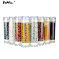 Maifan Stone Far Infrared Tourmaline Alkaline Mineral Water Filter 10 Inch Resin GAC Carbon Cartridge For Water Purifier