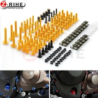 Universal Motorcycle Fairing Body Bolts Spire Screw Nuts For Ducati 796 696 400 620 695 MONSTER 620 MTS HYPERMOTARD 796 S2R 800