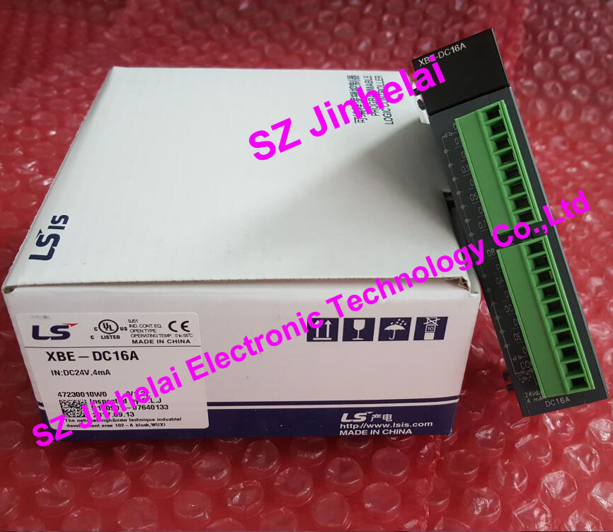 New and original LS  Programmable controller  XBE-DC16A 100% new and original xbe dc16a ls lg plc 16 point dc24v input